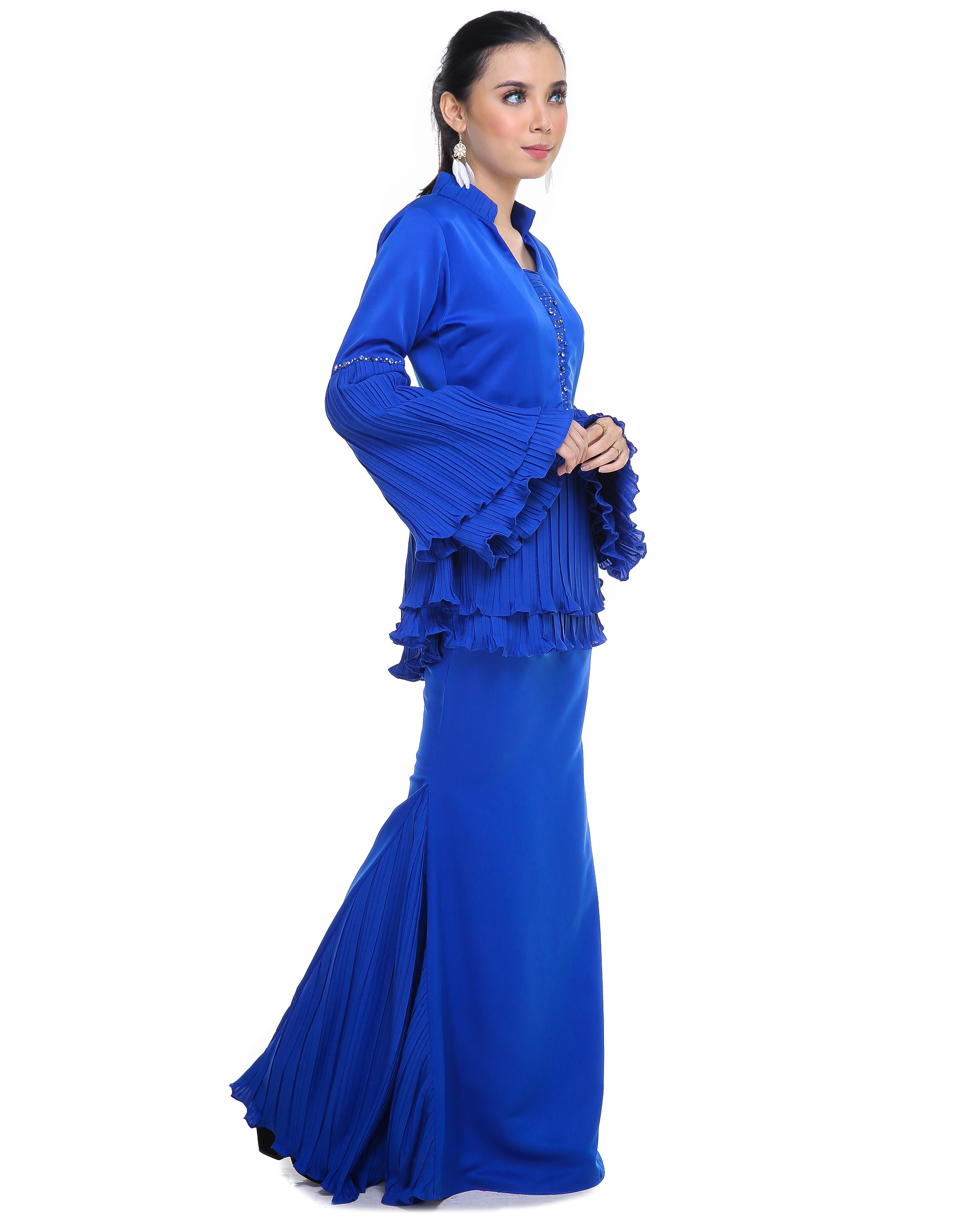 Mellysa (Deenara Premium) - Royal Blue