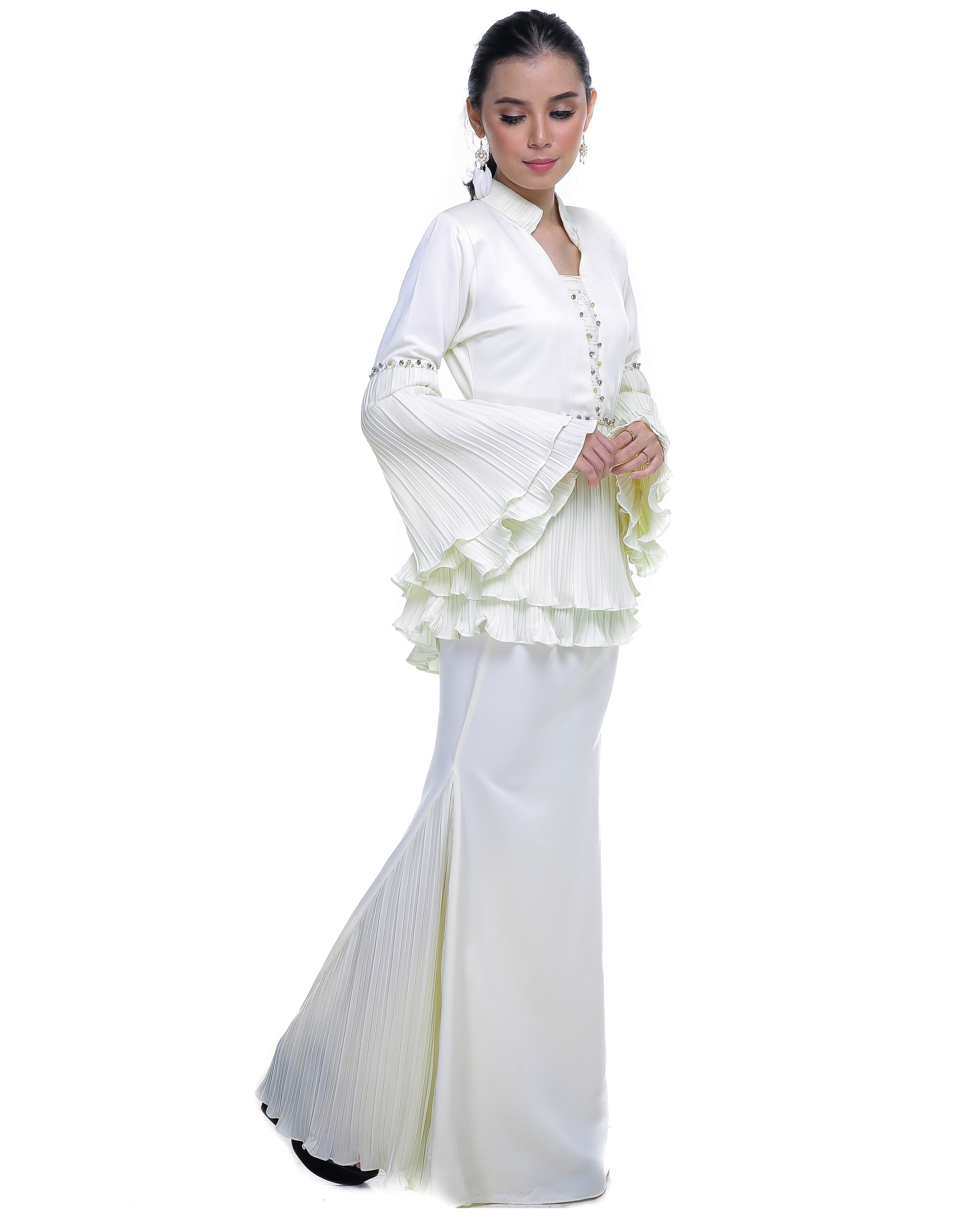Mellysa (Deenara Premium) - Off White