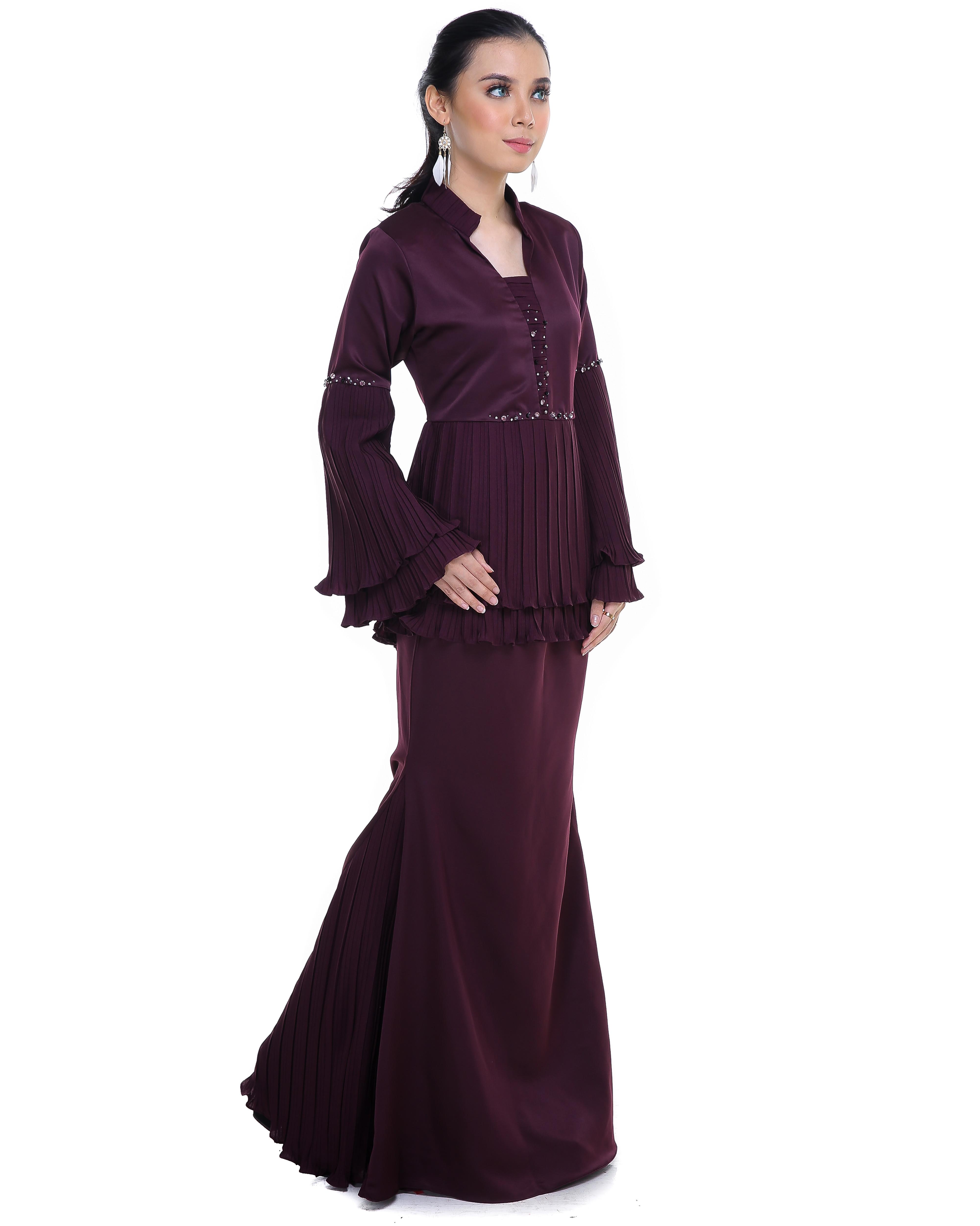Mellysa (Deenara Premium) - Dark Purple