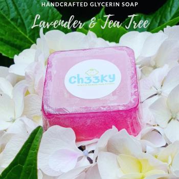 Lavender and Tea Tree Glycerin Soap - Ch33KY