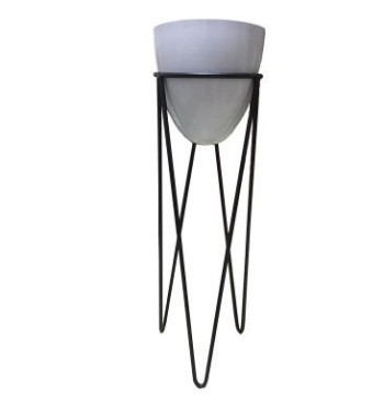 Wire Tripod Stand and Pot