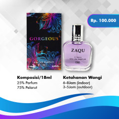 Gorgeous Zaqu Parfum - TOKOAMAL.ASIA