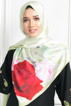 PUSPA - Affa Rose in Green - Anggun Chitra