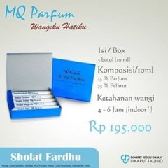 Parfum Shalat Fardhu - TOKOAMAL.ASIA