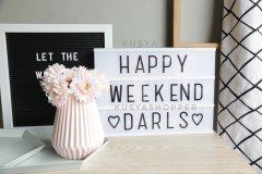 A4 Light Box with Letters - KusyaHome- Scandinavian Furniture & Decoration Online Malaysia