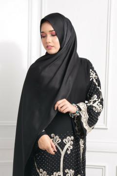 Satin Silk Matte - Truffle Black - Anggun Chitra