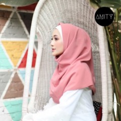 AMITY LONG SQUARE INSTANT DUSTY ROSE - AMITY