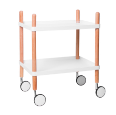 Nordic Tray Trolley Table - KusyaHome- Scandinavian Furniture & Decoration Online Malaysia