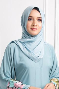 Satin Silk Matte - Bubblegum Blue - Anggun Chitra