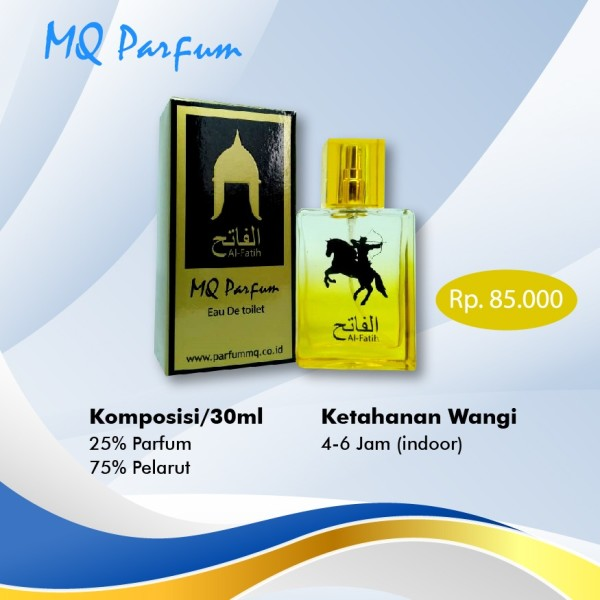 MQ Parfum Edisi Al Fatih - TOKOAMAL.ASIA