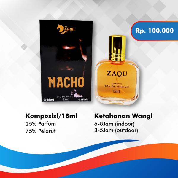 Macho Zaqu Parfum - TOKOAMAL.ASIA