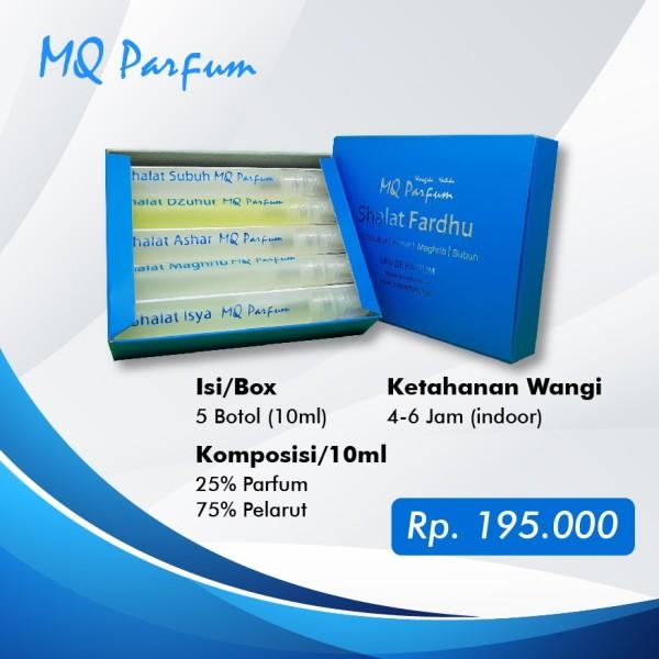 MQ Parfum Edisi Shalat Fardhu - TOKOAMAL.ASIA