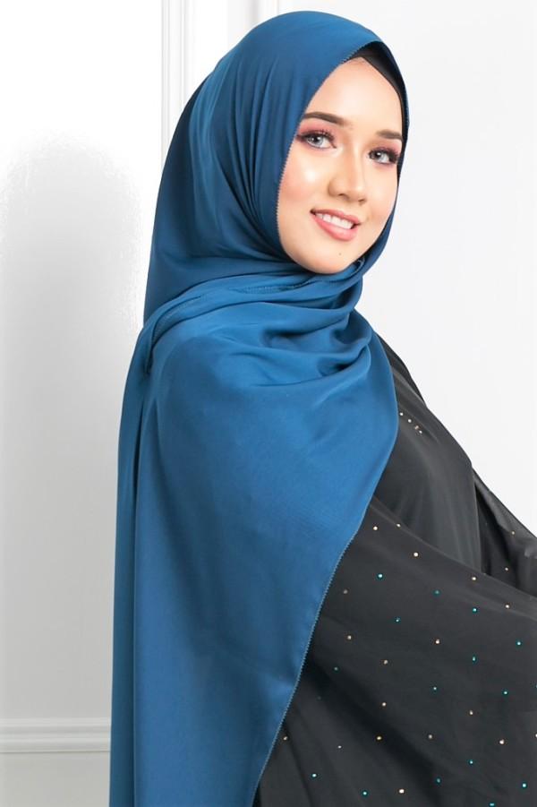 Satin Silk Matte - Prussian Blue - Anggun Chitra